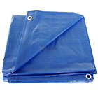Safety Shark Blue Waterproof Tarp Cover - 5 Mil thick - 50 Sizes Available