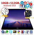 Tablette Android Battery Capacity Large Android Tablet Pad 10.1 inch 10GB+512GB
