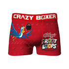 Fruit Loops Toucan Sam Holiday Underwear Boxer Briefs Red