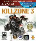 Killzone 3 (Sony PlayStation 3, 2011) Game, case, and manual