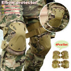 Adjustable Knee Elbow Pad Tactical Accessories Army Gear Knee Pads For Men Women