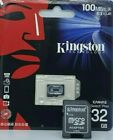 Kingston Micro SD Card 16GB 32GB 64GB TF Class 10 for Smartphones & Tablets