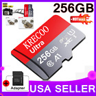 Внешний вид - 256GB Micro Memory SD Card 4K Class10 Flash TF Card with Adapter Fr Phone USA