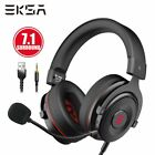KSA Gamer Headset 7.1 Surround Sound Gaming Headphon E900 PRO Wired Game Headpho