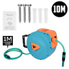 10M Wall-Mounted Retractable Air Hose Rewind Air Line Hose Reel Compressor Tool