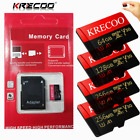 Fast Speed 256GB Micro Memory SD Card C10 Flash TF USH-1 fr Phone Car Camera New
