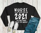 I'll Be There For You Nurse 2020 NHS Jumper - Friends TV Theme Doctor Nurse