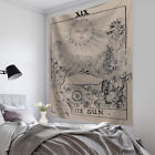 Tarot Card Moon Wall Hanging Poster Tapestry Hippie Mandala Home Bedroom Decor