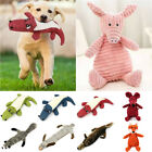 No Stuffing Plush Dogs Toys Indestructible Pet Puppy Sound Chew Squeaker Funny