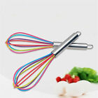 Multicolor Stainless Steel Balloon Wire Egg Beater Whisk Tool Kitchen Mixer US
