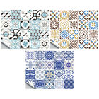 20pcs Adhesive Waterproof Mosaic Wall Tile Stickers For Bathroom Home Decor