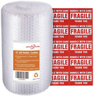 Offitecture Bubble Cushioning Wrap Roll, 300mm x 11m, Small Air Bubble and Perfo