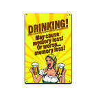 Tin Sign Man Cave Decor - These Funny Beer and Alcohol Signs Are New