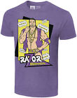 WWE RAZOR RAMON Legends Illustrated OFFICIAL AUTHENTIC T-SHIRT