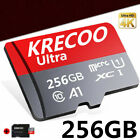 KRECOO 64GB/128GB/256GB Micro Memory SD Card 275MB/S TF Flash Card with Adapter