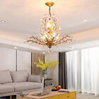 Elegant K9 Crystal Chandelier Modern Ceiling Light Pendant Lamp Fixture Lighting