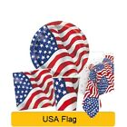USA - Stars & Stripes - AMERICAN Independence Day Party Tableware Balloons Decor