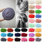 Super Soft Chunky Wool Yarn Knit Giant Arm Knitting Blanket Thick Weaving 250g