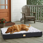 Jumbo Soft Flat Pet Dog Bed Memory Foam Cushion Plush Frame Mattress Anti-Water
