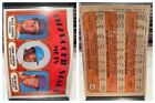 1972 Topps Cards #1 to #250 - Complete A Set - YOU PICK - $2/Card, FREE SHIPPING