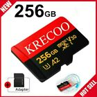 New 256GB Micro Memory SD Card 10 Fast 4K Flash TF Card with Adapter Car Camera