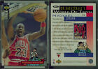 MICHAEL JORDAN Choose Your Card Or Rookie Card RC Part One