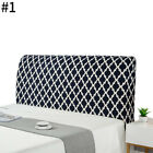 Stretch Bed Headboard Cover Bed Head Slipcover Elastic Backrest Full Protector
