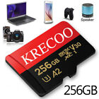 256GB Micro SD SDHC Memory Card Class10 275MB/S Fast Flash TF Card  Adapter US