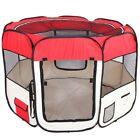 Pet Playpen Foldable Portable Dog / Cat / Puppy Kennel for Small Medium Large US