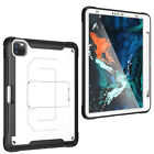 Hybrid Pencil Holder Cover Shockproof Stand Case For Apple iPad Pro 11 2018 2020