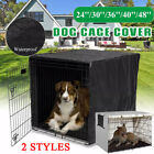 Kennel House Case Waterproof Heavy Duty Dog Pet Cage Crate Cover Fit 22-48 inch
