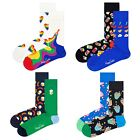 Happy Socks 2er Pack Unisex Socks - Beer, Gift Box, Colour Mix, 36-46