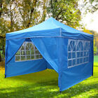 2.5x2.5M Garden Pop Up Gazebo Heavy Duty Waterproof Outdoor Wedding Party Tent