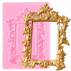Frame Silicone Mold Letters Chocolate Candy Moulds Fondant Cake Decorating Tools