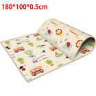 "Baby Crawling Play mat 71x39.4"" Large Waterproof Foldable 2 Side Game Carpet"