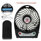9W Portable Outdoor LED Light Air Cooler Mini Desk USB Fan Without 18650 Battery