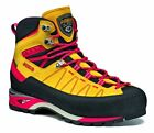 Asolo Men's A01034 Piz GV Water Resistant Mimosa/Fire Red Climbing Boots Shoes
