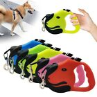 Durable Retractable Dog Leads Nylon Lead Extending Puppy Leashs Walking Running