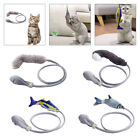 Flopping Moving Fish Cat Toys Catnip Soft Plush Interactive Playing Toy
