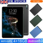 10.1 Inch Wifi Tablet Pc Android 8.0 Octa Core 4+16gb 2sim Camera Gps 3g Phablet