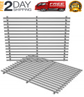 """Stainless Steel Grill Cooking Grates 15"""" 2-Pack for Weber Spirit 500 Genesis A"""