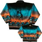 Kokopelli Flute Native American Southwest Fleece Jacket