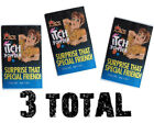 (3) Itch Itching Powder Packages ~ Prank Joke Trick Gag Funny Joke Trick Magic