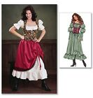 Butterick 3906 Sewing Pattern to MAKE Gypsy Serving Wench Historic Costume