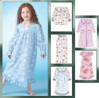 McCall's 7221 Sewing Pattern to MAKE Girls' Nightwear Robe Nightdress Pyjamas