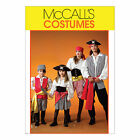 McCall's 4952 Sewing Pattern to MAKE Unisex Pirate Costume Adult or Child Sizes