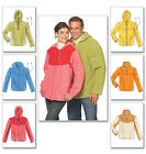 McCall's 5538 Sewing Pattern to MAKE Unisex Fleece Jackets with Six Variations