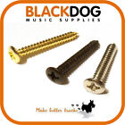 Guitar screws for bridge tremolo chrome black gold