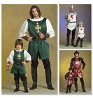 McCall's 5500 Sewing Pattern to MAKE Adult Child Knight Prince Samurai Costume