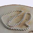 MENS BELCHER CHAIN SOLID STERLING SILVER NEW HALLMARKED